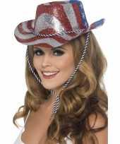Cowboy glitterhoed usa